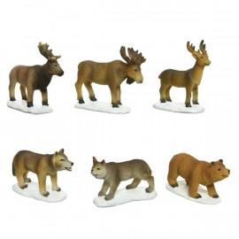 """""""Erdei állatok"""" makett kiegészítő figurák"""