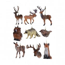 "Műanyag dísz ""Erdő állatai"""